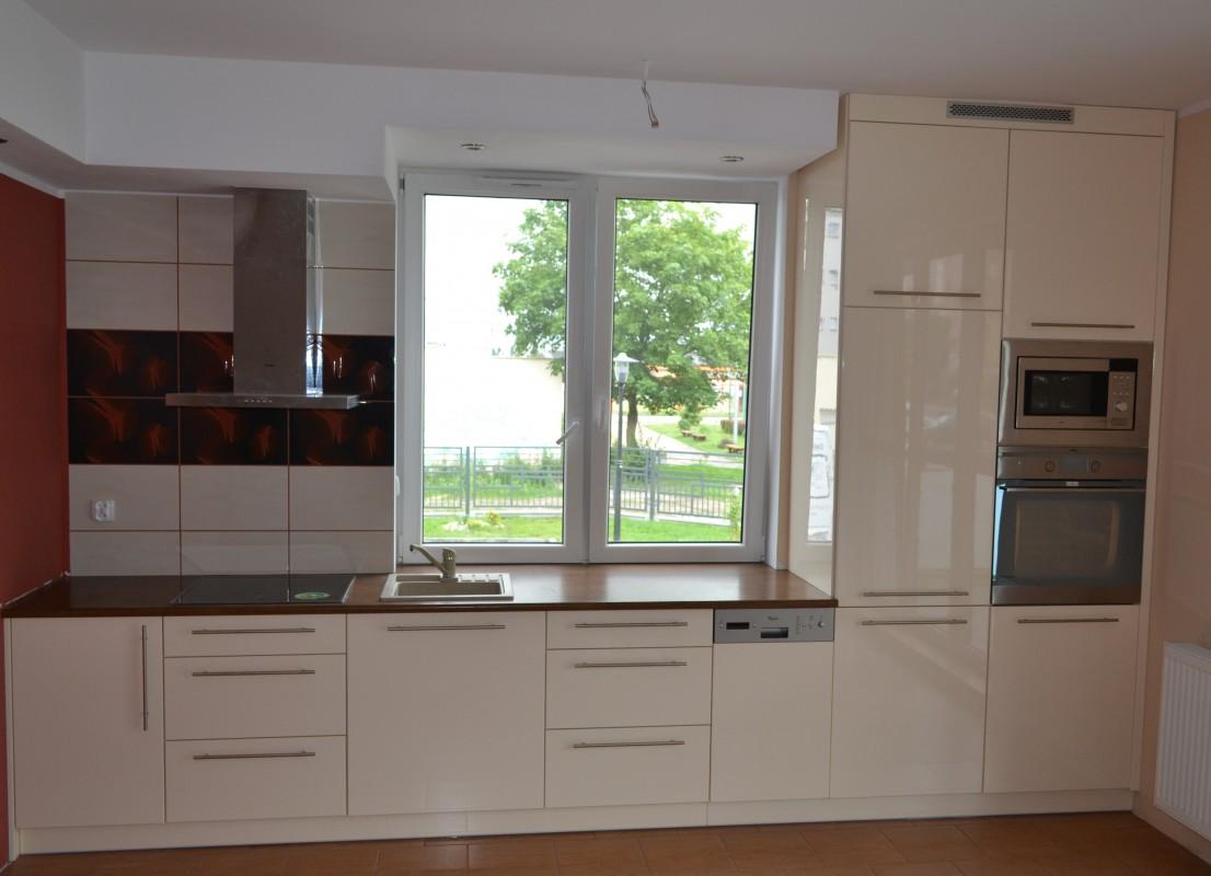kuchnia mdf wysoki połysk ICA 103,kuchnia tczew  galeria  meble Tczew -> Kuchnia Wanilia Na Wysoki Polysk